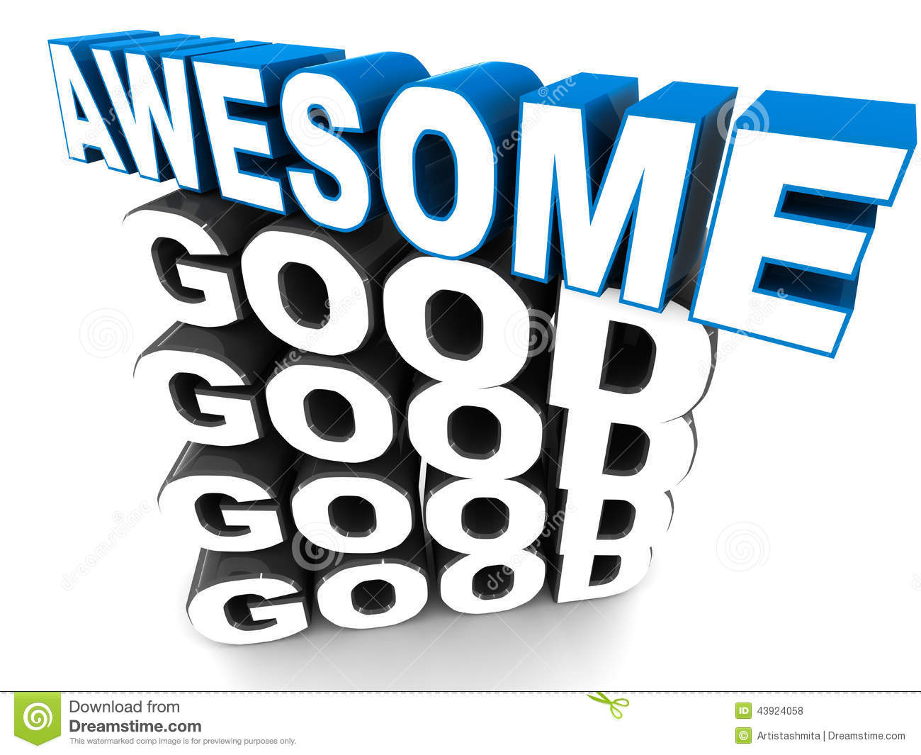 Word Of Awesome Clipart - Clipart Kid