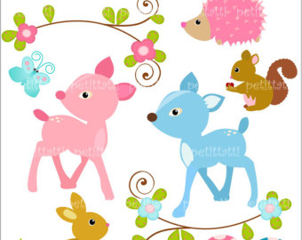 Baby Animal Clipart Borders Baby Animal Clipart Borders