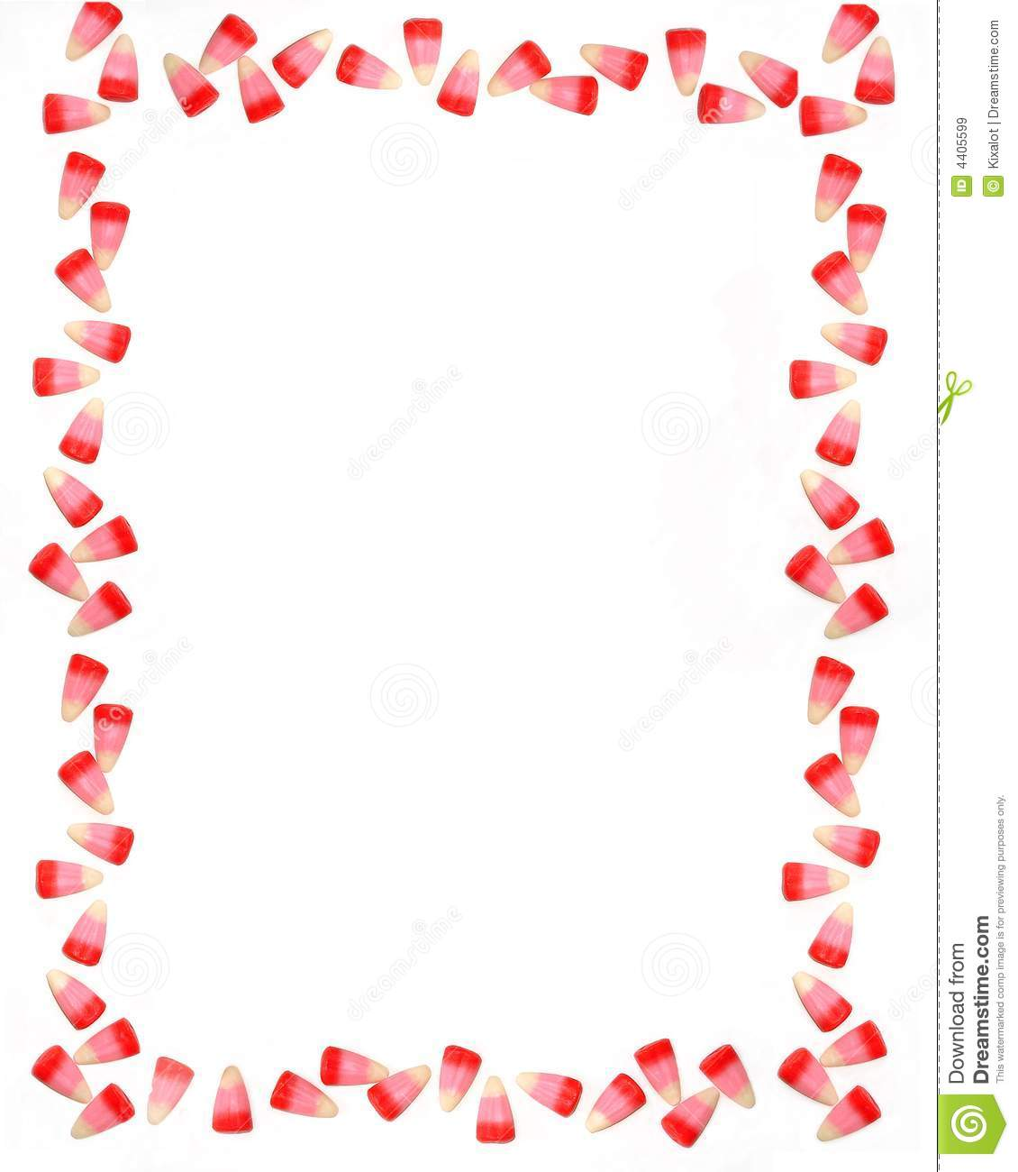 Candy Corn Border Perfect For Valentine S Day  Sweet Candy Frame