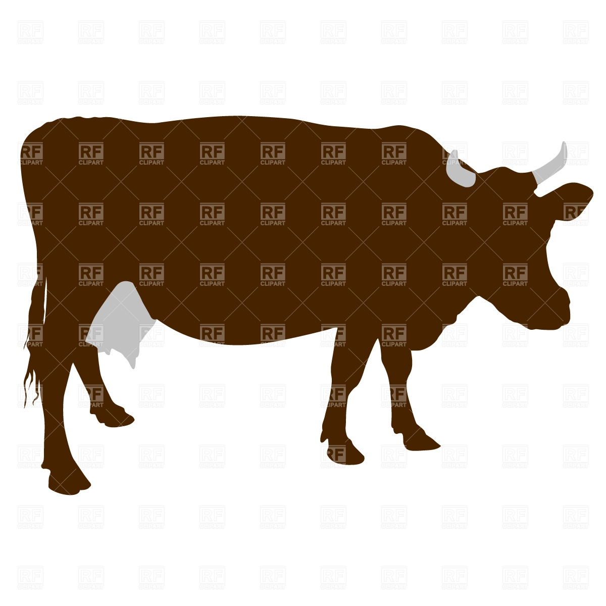 Cattle Silhouette Clipart   Cliparthut   Free Clipart