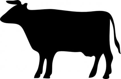 Cow Head Clipart Black And White   Clipart Panda   Free Clipart Images