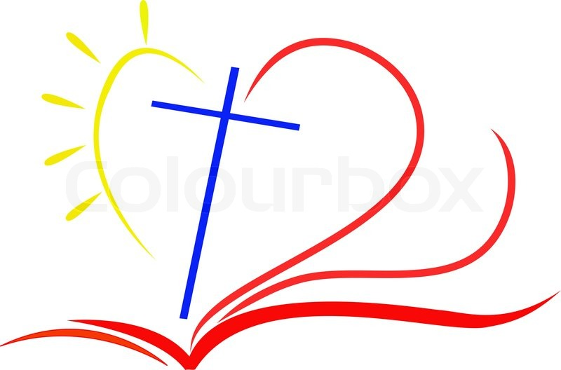 Rose cross and bible clipart suggest