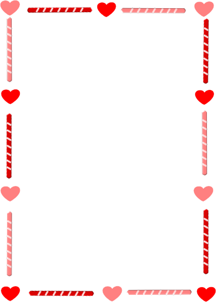 Clip Art Valentines Day Borders Clip Art valentines day border clipart kid valentine s clipart