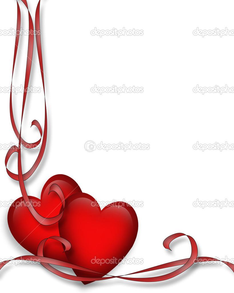valentine s day clip art borders lro8uu clipart suggest