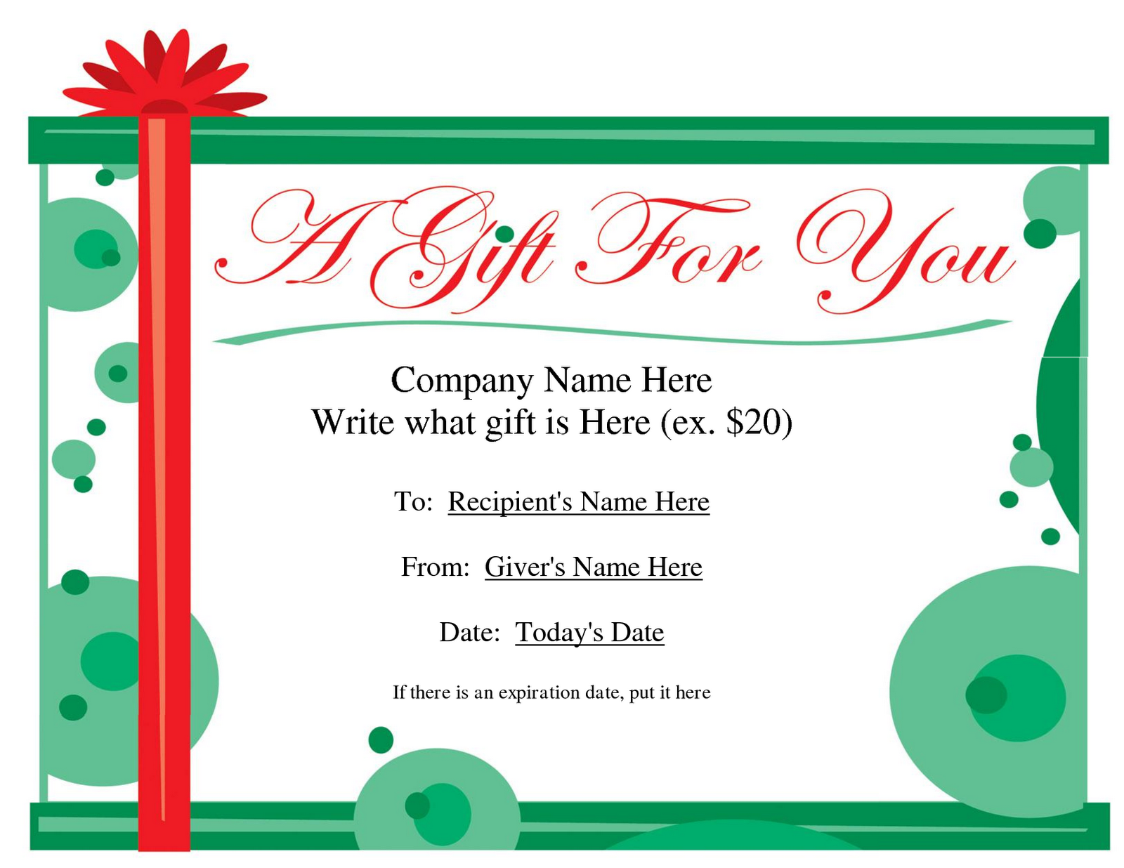 Printable gift certificates clipart clipart suggest for Downloadable gift certificate templates