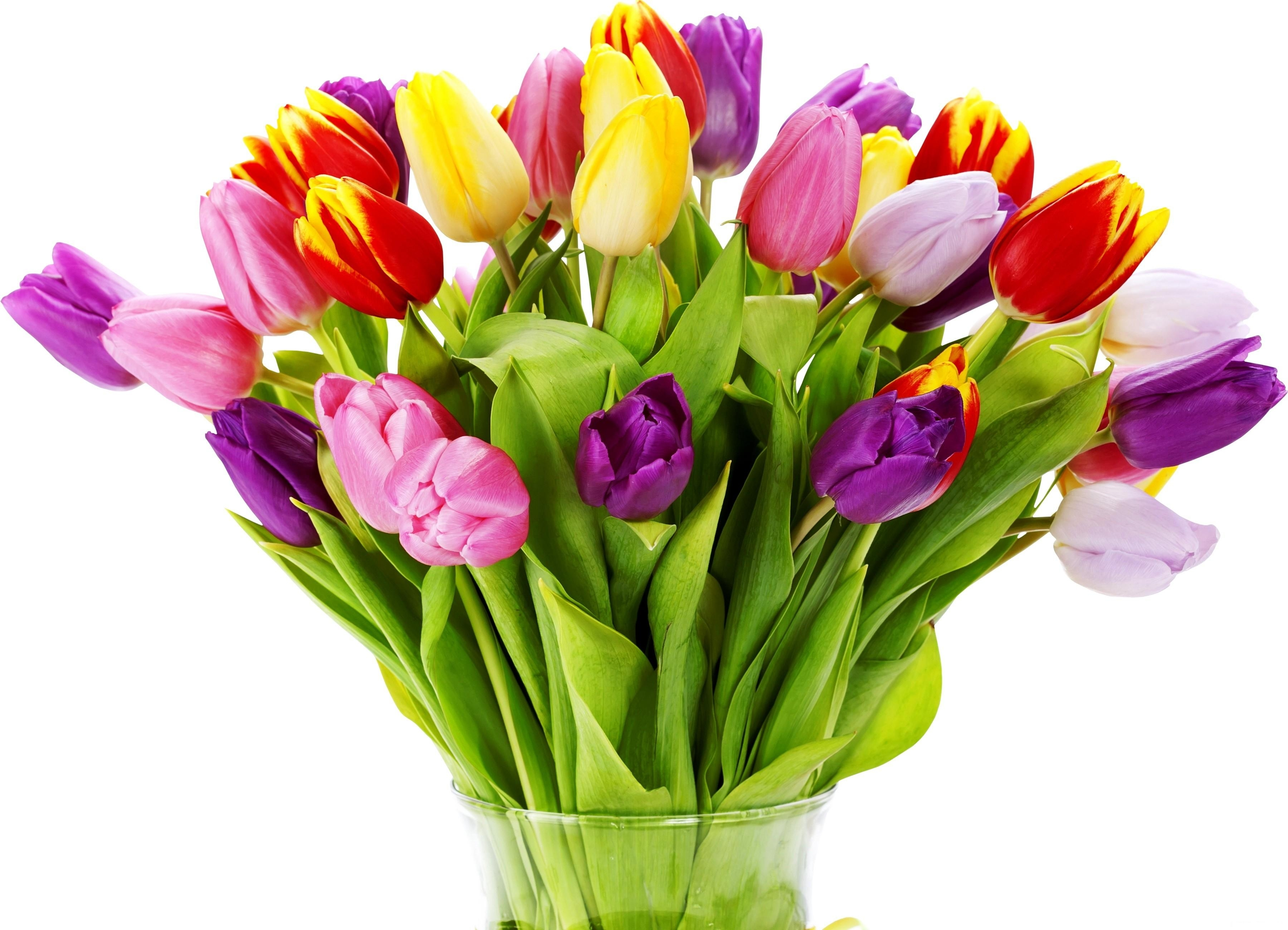 Bouquet Of Tulips And Roses Clipart Clipart Suggest