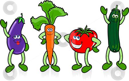 Cartoon Vegetable Clip Art Clipart   Free Clipart