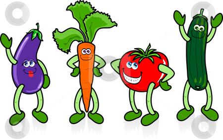 Cartoon Vegetable Clipart - Clipart Suggest