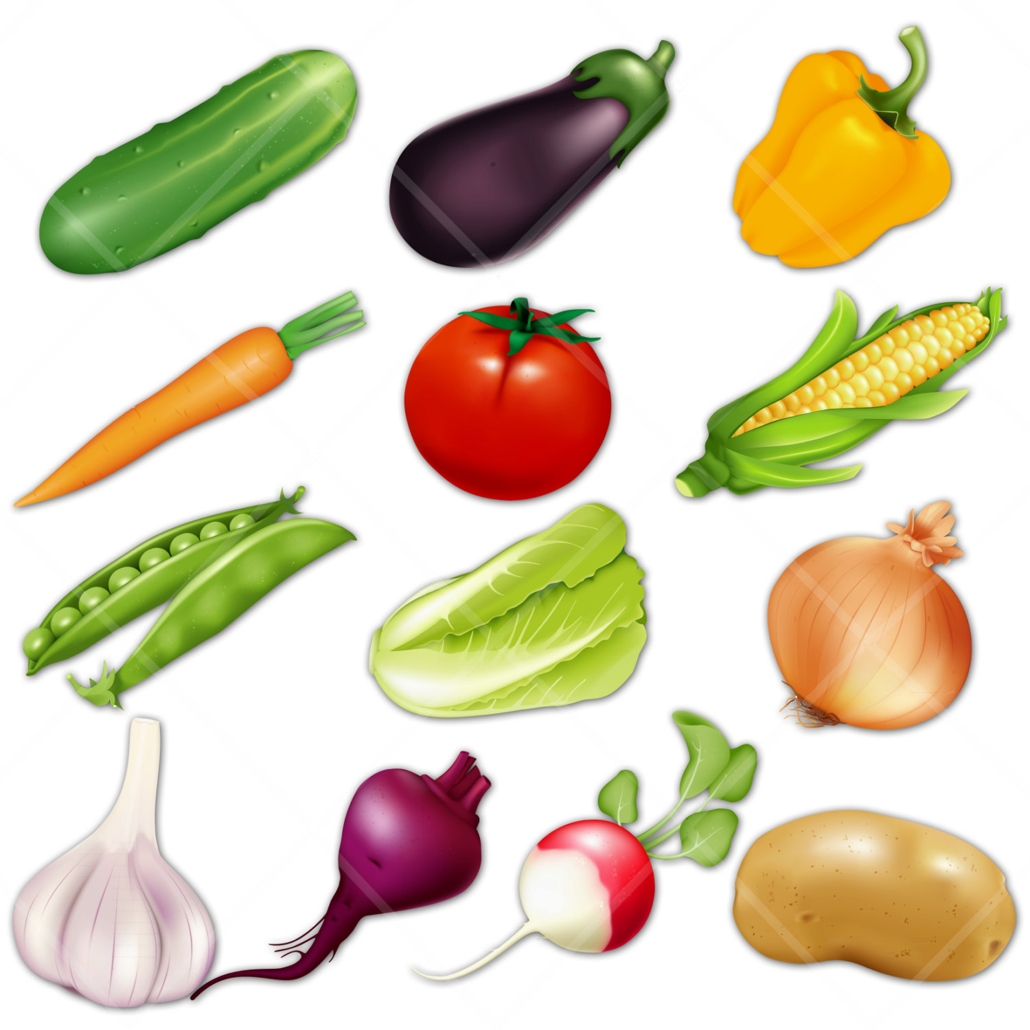 Cartoon Vegetables   Cliparts Co