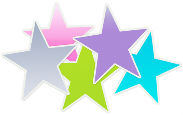 Colorful Stars Clipart   Clipart Panda   Free Clipart Images