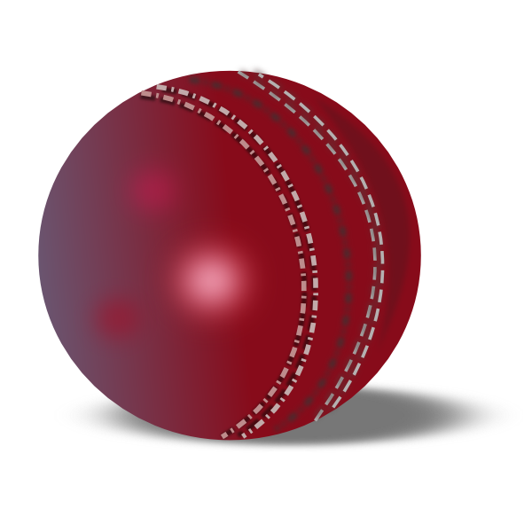 Cricket Ball Clip Art At Clker Com   Vector Clip Art Online Royalty