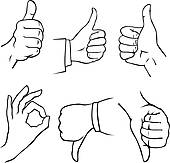 Gesture Clip Art   Royalty Free   Gograph