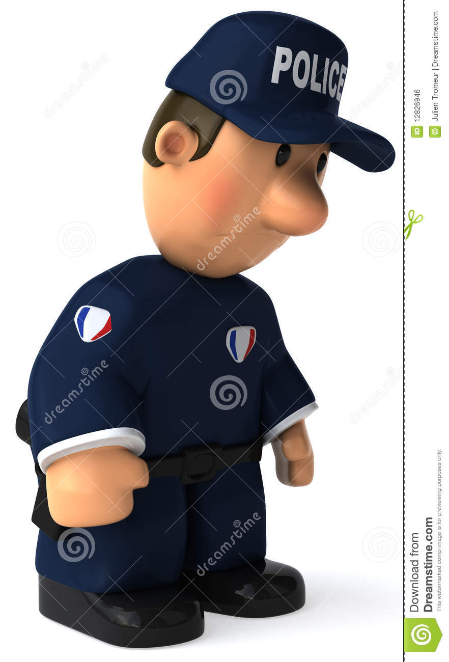 Police Officer Royalty Free Stock Image   Image  12826946