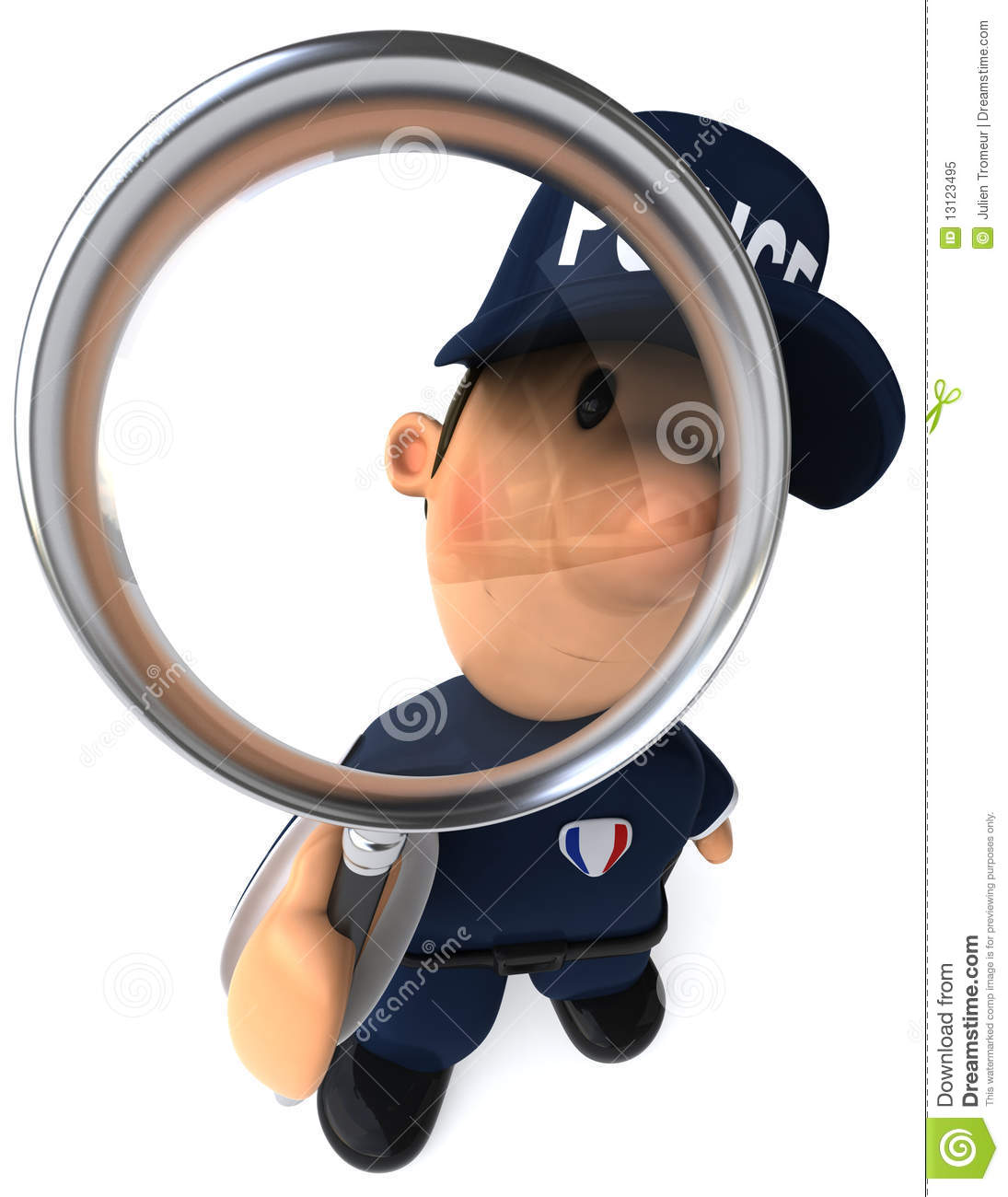 Police Officer Royalty Free Stock Photo   Image  13123495