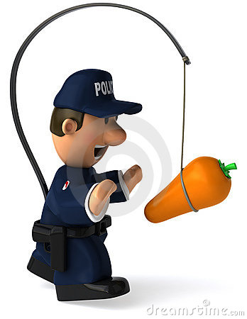 Royalty Free Stock Photo  Police Officer