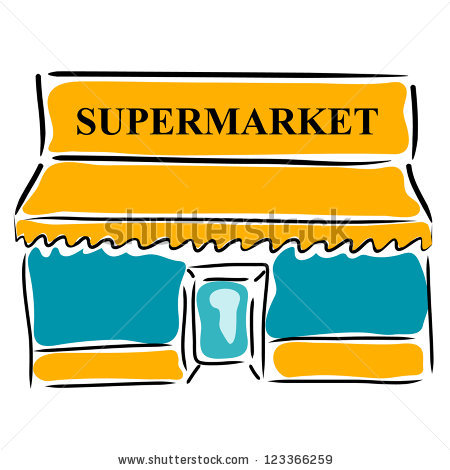 Clip Art Supermarket Clipart supermarket clipart kid black and white panda free clipart