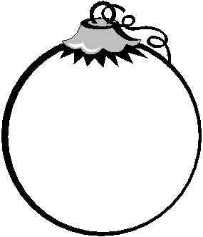 blank ornament coloring pages - photo#22