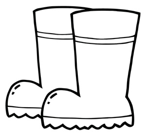 Cowboy Boots Clipart Black And White   Clipart Panda   Free Clipart