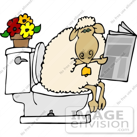 Funny Bathroom Clipart - Clipart Kid