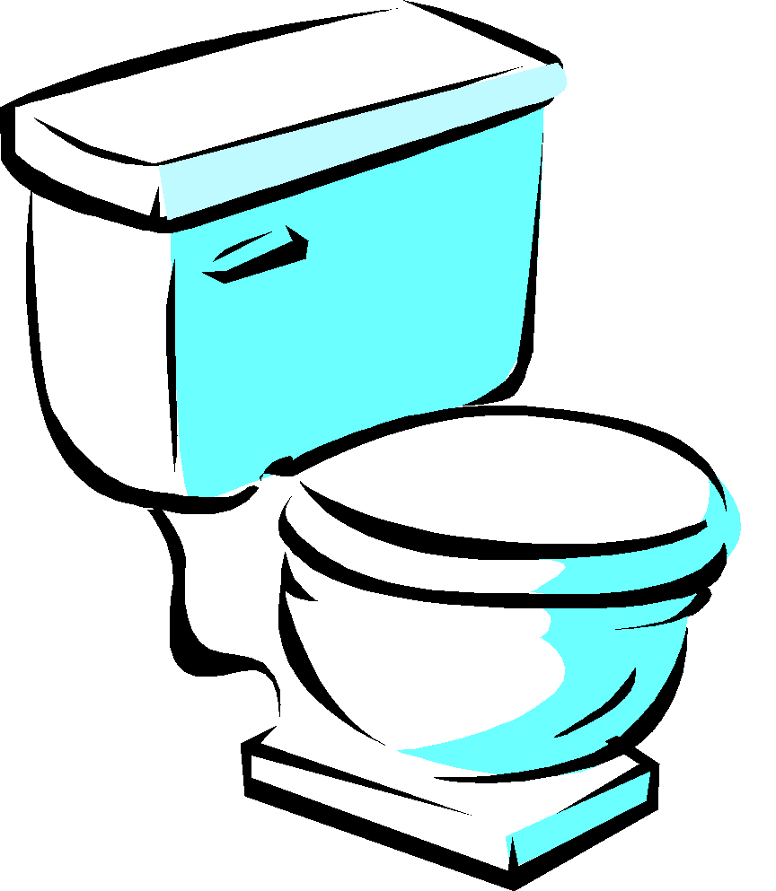 Happy Toilet Clip Art Toilet Bowl Clipart Drain