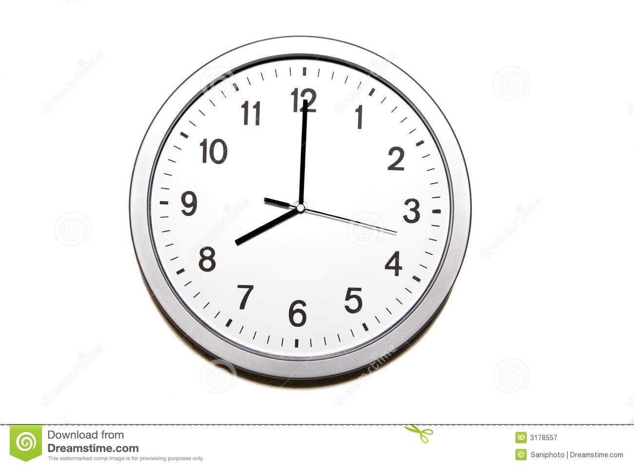 clipart 8 o'clock - photo #12