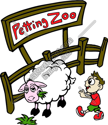 Petting Zoo Clip Art