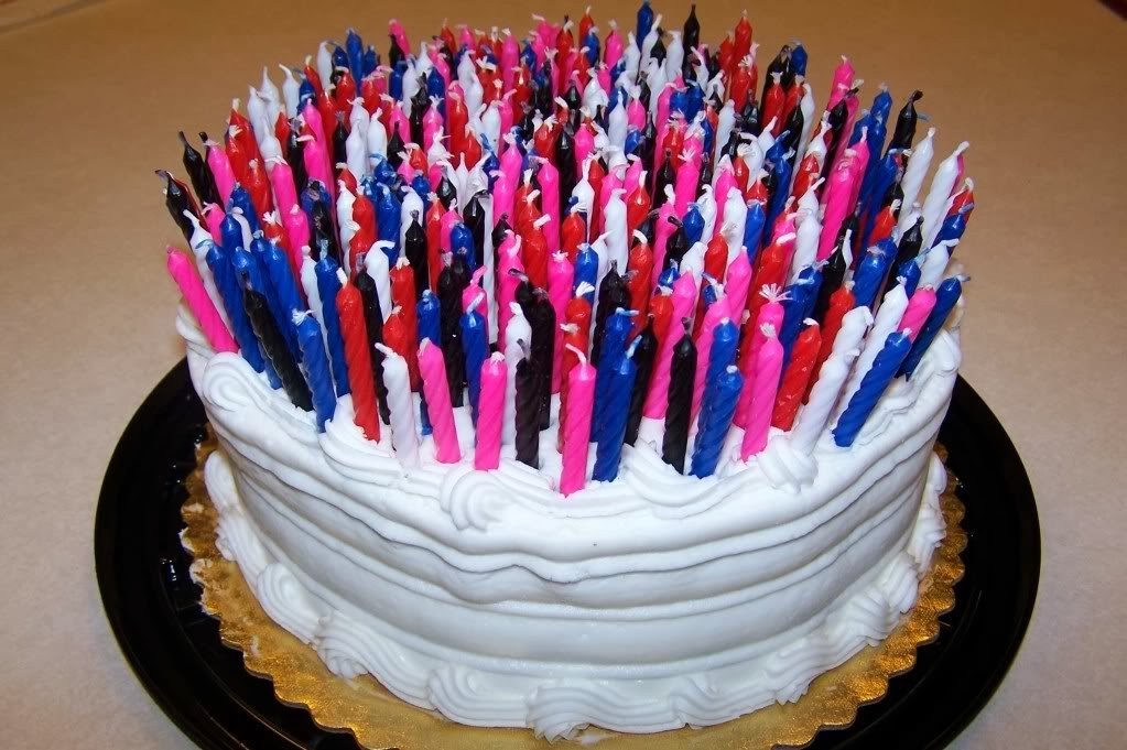 70 Birthday Cake Candles Clipart - Clipart Kid