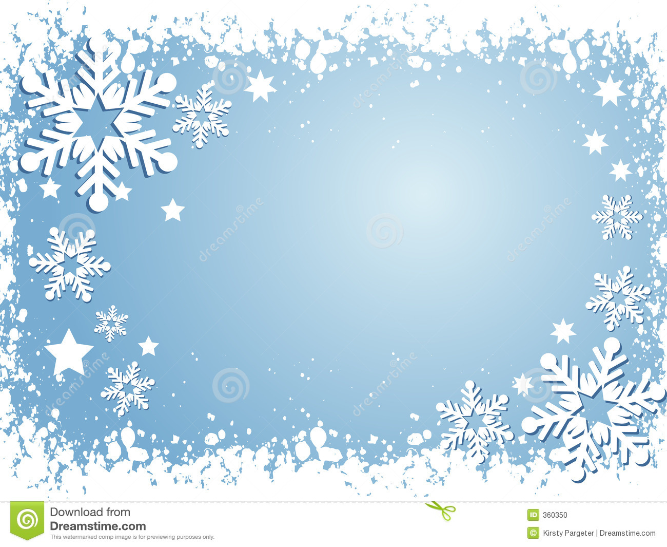 Themed Background With Snowflakes And Stars Mr No Pr No 5 12223 67