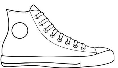Tennis Shoe Bottom Clipart - Clipart Kid