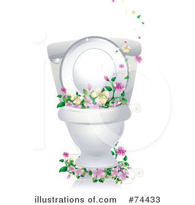 Toilet Clipart  74433 By Bnp Design Studio   Royalty Free  Rf  Stock