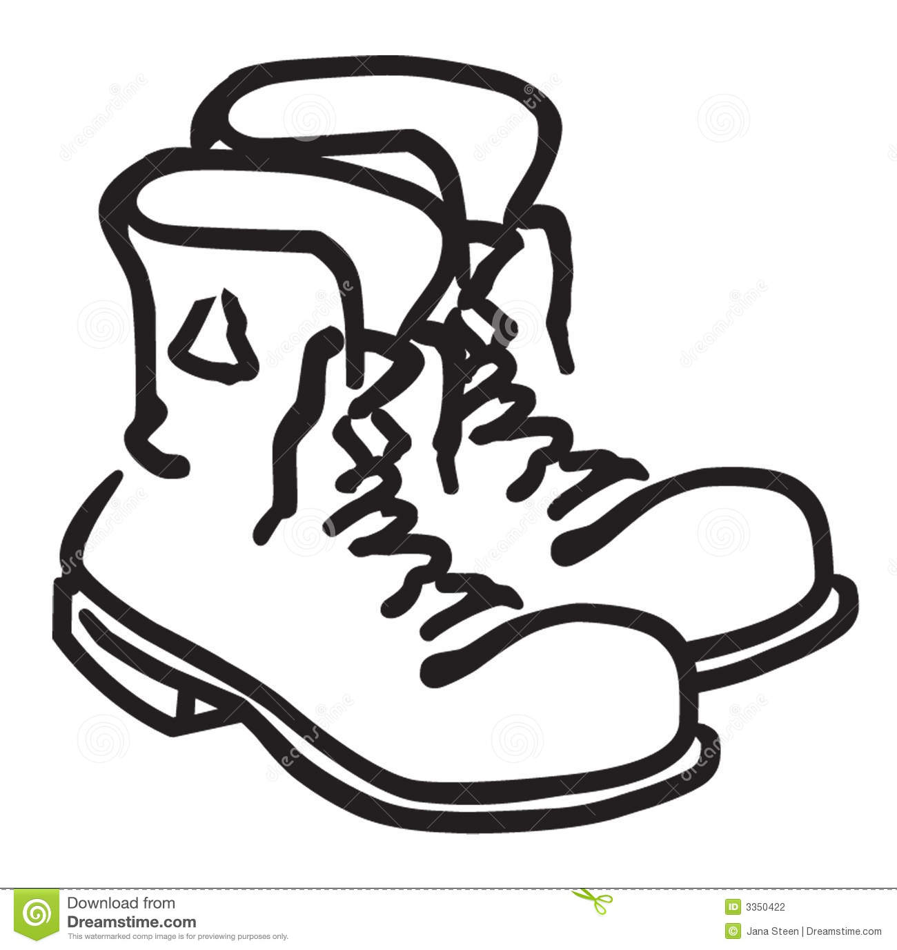 clipart of military boots - photo #38