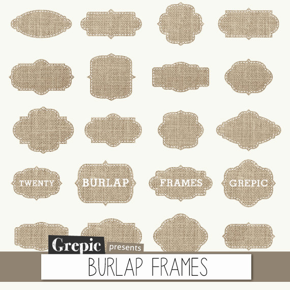 Back   Gallery For   Burlap And Lace Clip Art