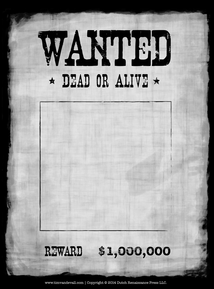 Doc600769 Reward Sign Template Doc450633 Most Wanted Sign – Missing Reward Poster Template