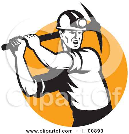 Cartoon Coal Miner Posters Art Prints By Ron Leishman   Interior Wall
