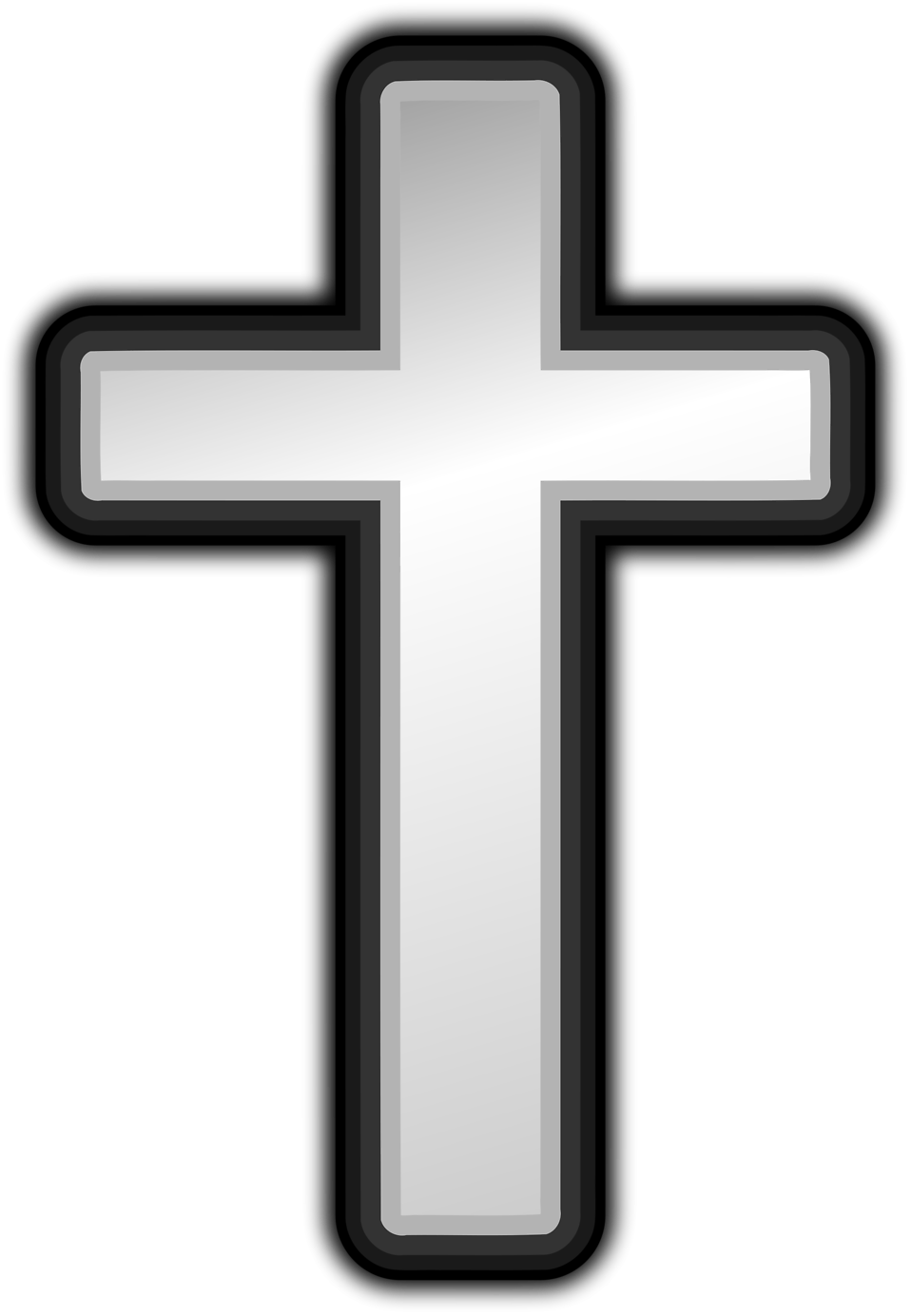 Cross   Free Stock Photo   Illustration Of A White Cross     16542