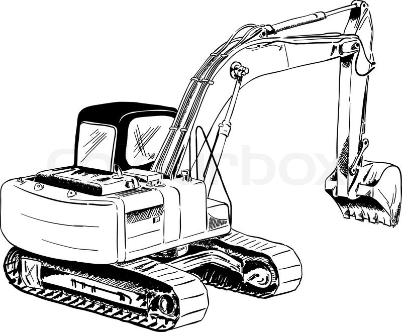 excavator clip art black and white HP6sNq clipart furthermore construction crane coloring page on construction equipment coloring pages as well as construction equipment coloring pages 2 on construction equipment coloring pages also with construction equipment coloring pages 3 on construction equipment coloring pages furthermore construction equipment coloring pages 4 on construction equipment coloring pages