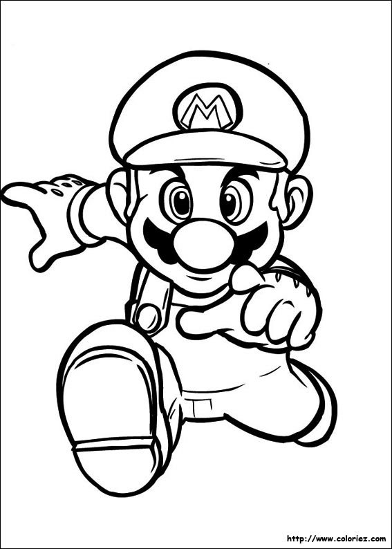 Le Coloriage Mario De La Cat Gorie Super Mario Bros Est Sur Ton Site Xmzosx Clipart Suggest