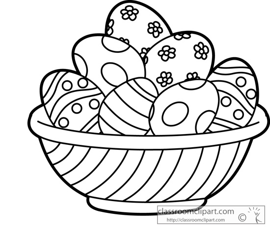 Related Pictures Black And White Easter Clip Art