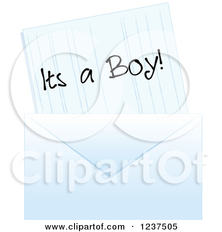 Royalty Free Its A Boy Illustrations By Pams Clipart Page 1