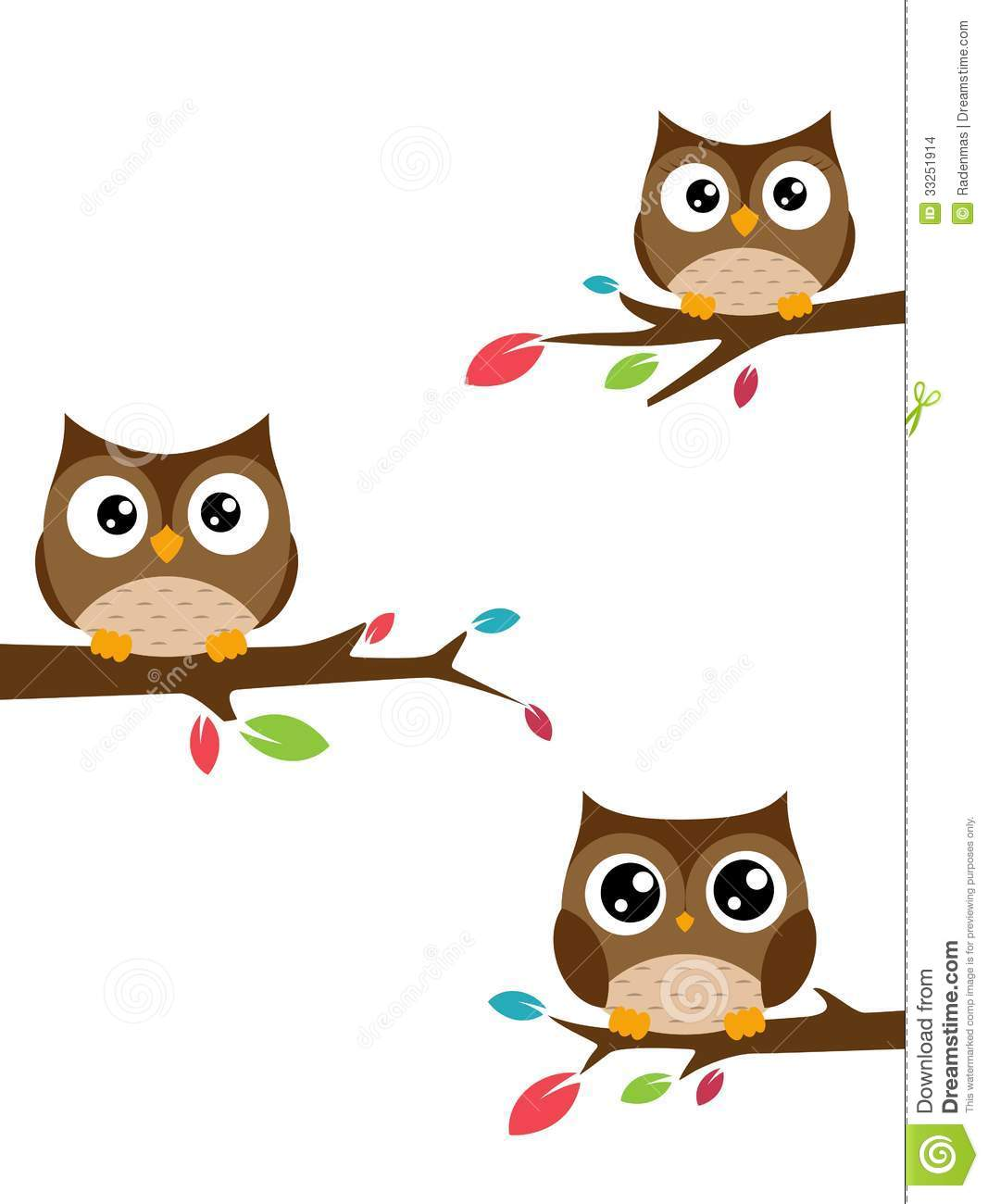 Clip Art Family Owls In Trees Clipart - Clipart Suggest