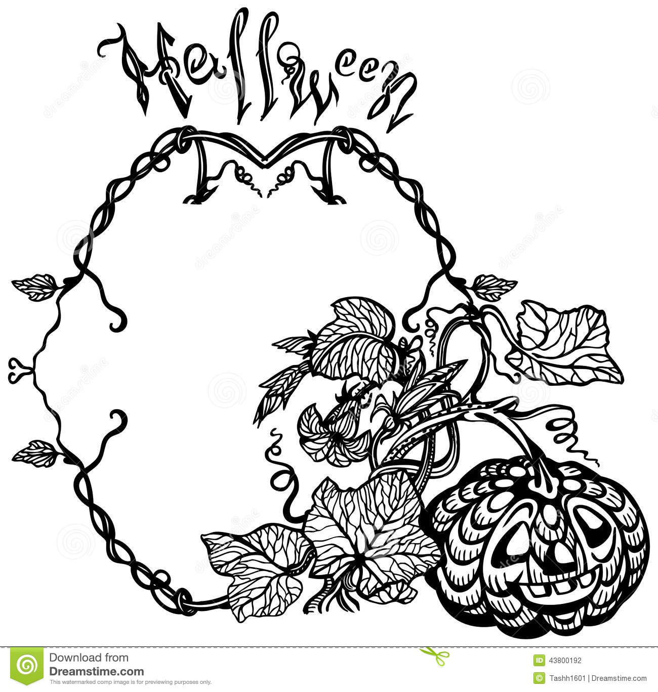 flower black and white pumpkin clipart clipart suggest