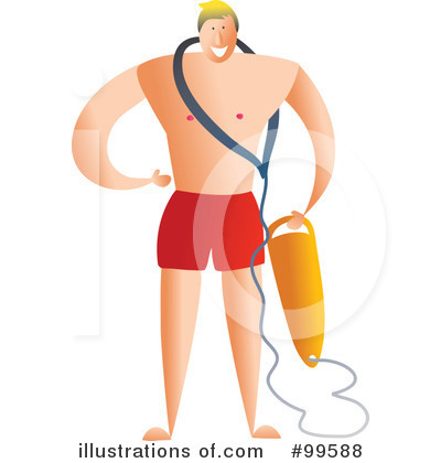 Lifeguard Clipart  99588   Illustration By Prawny