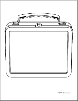 school lunch bag coloring pages - photo#28