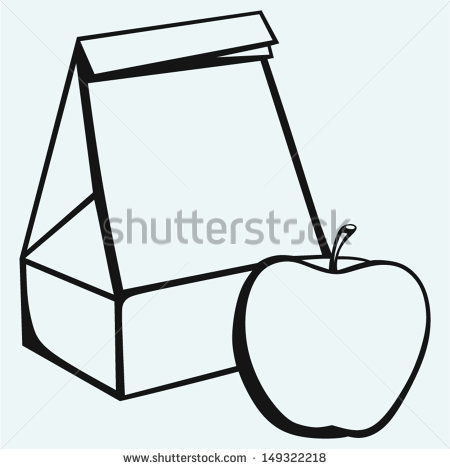 Pin Empty Blue Lunch Box Clipart Graphic On Pinterest