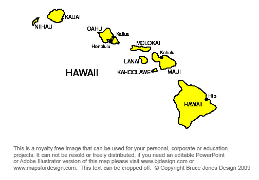 Printable Maps Hawaii To Maryland State Jpg Royalty Free Clip Art