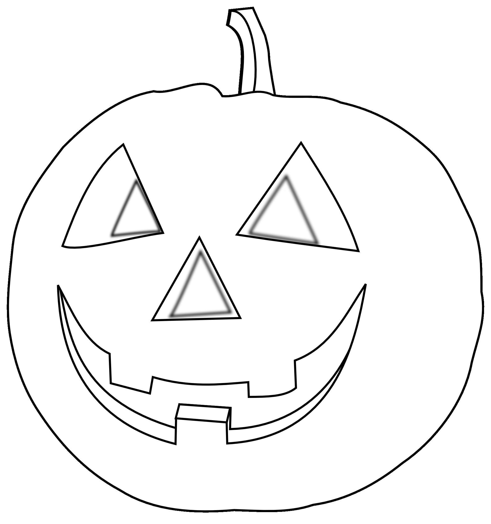 Pumpkin Flower Clip Art Black And White Citrouille Halloween Pumpkin