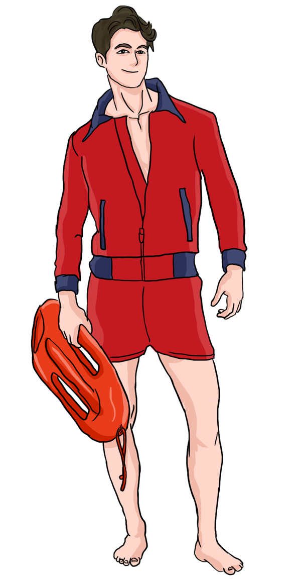 Swimming Pool Lifeguard Png