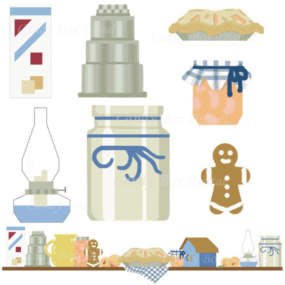 Country kitchen clipart clipart kid