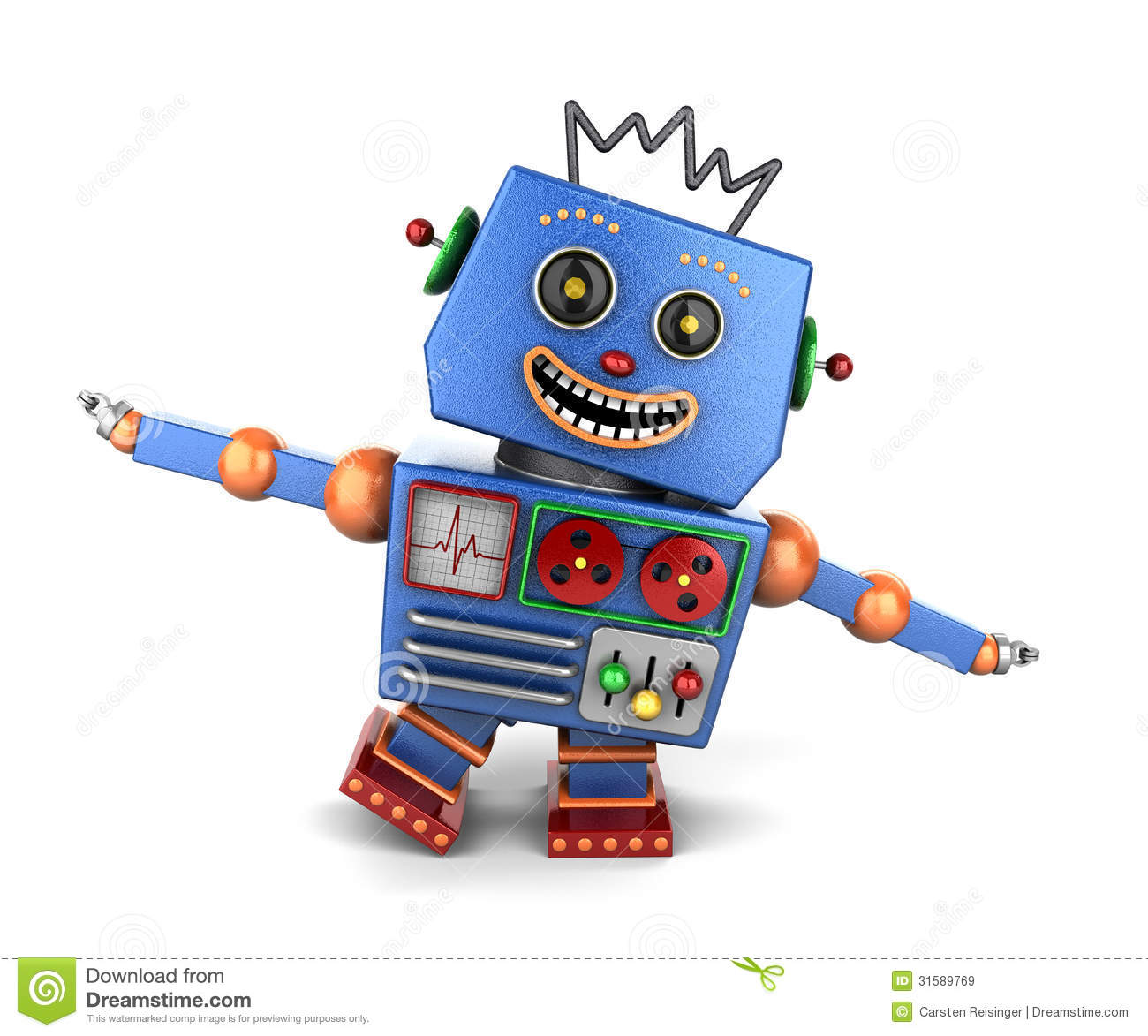 Cartoon Robot Toy : Toy robot clipart suggest