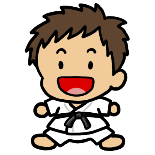 Judo Boy Clip Art At Clker Com   Vector Clip Art Online Royalty Free